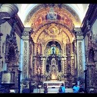 Photo taken at Igreja de Nossa Senhora do Carmo by Alice M. on 8/9/2013