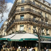 Photo taken at Les Deux Magots by Kok onn on 2/21/2013