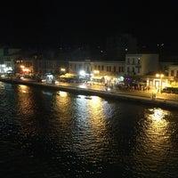 Photo taken at F/B Nissos Chios by Evan G. on 8/8/2013