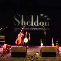 Photo taken at Sheldon Theatre by Eric B. on 10/25/2014