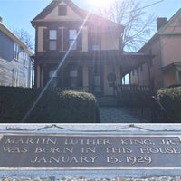 Photo taken at Martin Luther King Jr. Birth Home by Brian G. on 1/9/2017