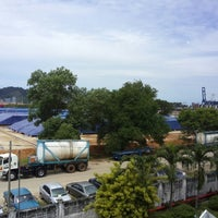 Photo taken at Main Gate Kuantan Port by Jiggee J. on 6/6/2013