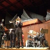 Photo taken at Paul Recital Hall at Juilliard by Melissa G. on 11/12/2013