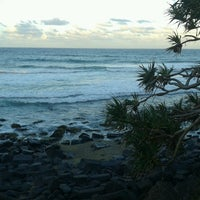 Photo taken at Burleigh Heads Park by Isadora H. on 2/3/2014