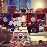 Photo taken at Lomography Gallery Store New York by Manu J. on 6/20/2013