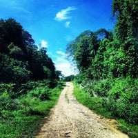 Photo taken at pantai kondang merak by Mary T. on 12/16/2012