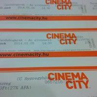 Photo taken at Cinema City by Erkunt T. on 1/5/2014