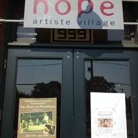 Photo taken at Hope Artiste Village by Kevin V. on 6/25/2013