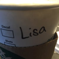 Photo taken at Starbucks by Lisa D. on 1/21/2016