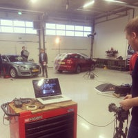 Photo taken at Automotive Campus by Gijs S. on 12/9/2014