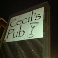 Photo taken at Cecil's Pub by Santiago C. on 7/4/2013