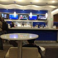 Photo taken at Delta Sky Club by Webster88 on 5/3/2013
