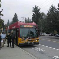 Photo taken at Aurora Village Transit Center by Jayson P. on 10/22/2013