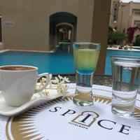 Photo taken at Spice Hotel & SPA Defne VIP Lounge by Erkan K. on 5/13/2016
