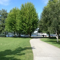 Photo taken at Green Lake Loop by Tracy F. on 7/8/2013