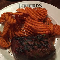 Photo taken at Firebirds Wood Fired Grill by Becky C. on 6/1/2016