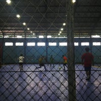 Photo taken at YPKP Indoor Soccer Center by Harry Y. on 9/16/2013