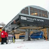 Photo taken at Mount Snow Resort by Amanda Sabrina P. on 12/30/2012