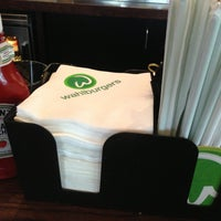 Photo taken at Wahlburgers by Jeff C. on 6/11/2013