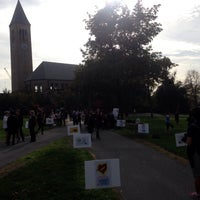 Photo taken at Arts Quad by Mark on 10/21/2015