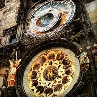 Photo taken at Prague Astronomical Clock by Fernanda S. on 6/28/2013