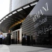 Photo taken at Armani Hotel Dubai by Adam C. on 11/13/2012