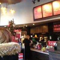 Photo taken at Starbucks by Ben W. on 12/21/2012