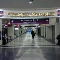 Photo taken at Philadelphia International Airport (PHL) by Jude B. on 5/18/2013