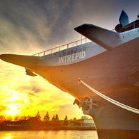 Photo taken at Intrepid Sea, Air & Space Museum by Jeffrey P. on 11/18/2012