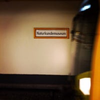 Photo taken at U Naturkundemuseum by Johann R. on 10/23/2014