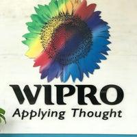 Photo taken at Wipro Corporate Office by Yuvaraja B. on 1/7/2017