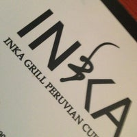 Photo taken at Inka Grill by Adry G. on 2/18/2013