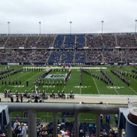 Photo taken at Rentschler Field by Patrick H. on 9/29/2012
