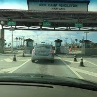 Photo taken at MCB Camp Pendleton - Main Gate by Jason A. on 6/24/2013