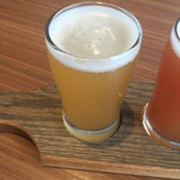 Photo taken at Corsaire Microbrasserie by John M. on 3/17/2016