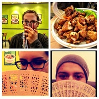 Photo taken at The Flame Broiler by Michael on 10/12/2012