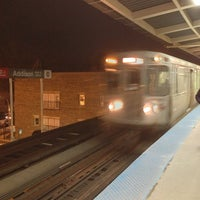 Photo taken at CTA - Addison by Carl-Philippe P. on 3/4/2013