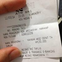 Photo taken at BNI KCU Medan by ardian h. on 3/12/2014