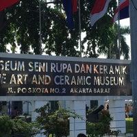 Photo taken at Museum Seni Rupa dan Keramik by Vivi Y. on 8/6/2016