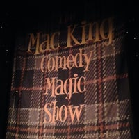 Photo taken at The Mac King Comedy Magic Show by Travis F. on 10/31/2015