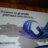Photo taken at Hemisferios C.A. by Iván de Jesus Y. on 10/11/2012