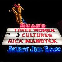 Photo taken at Egan's Ballard Jam House by Eric L. on 10/30/2014