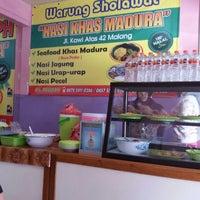 Photo taken at Warung Sholawat Nasi Bhuk by Tomo C. on 3/9/2016