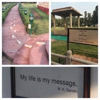 Photo taken at Gandhi Memorial Museum by Swen G. on 12/17/2014