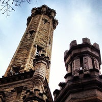 Photo taken at Chicago Water Tower by Backyard Tourist on 4/17/2013