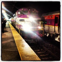 Photo taken at MBTA Back Bay Station (BBY) by Charlie O. on 3/8/2013