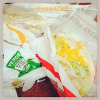 Photo taken at Taco Bell by Arika T. on 6/2/2014