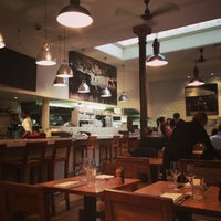 Photo taken at Tom's Kitchen by VV W. on 3/1/2013