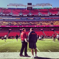 Photo taken at FedEx Field by Brian C. on 10/20/2013