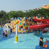 Photo taken at Ocean Park Water Adventure by Laura on 12/24/2012